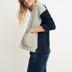 Madewell Patched Pocket Pullover Sweater